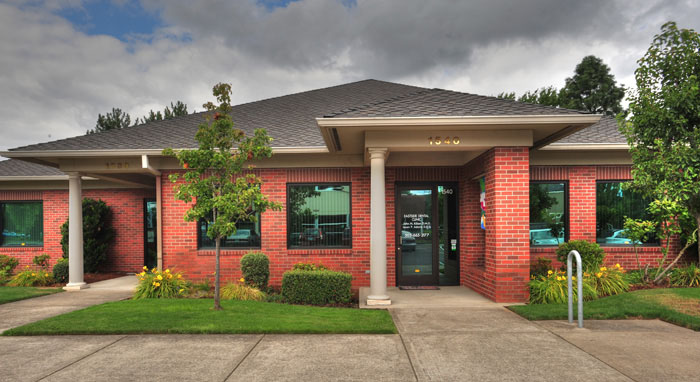 Building of Eastside Dental Clinic, in Troutdale, OR